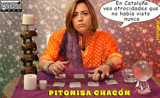 pitonisa chacón