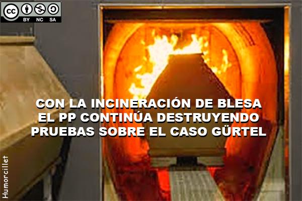 incineración