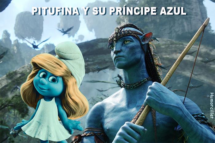 PITUFINA AZUL