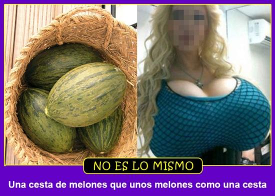 melones cesta