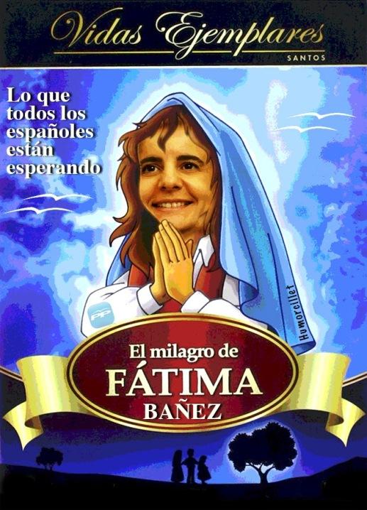 fatima bañez milagro