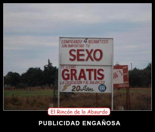 PUBLICIDAD ENGAÑOSA