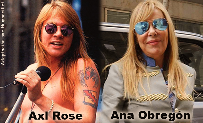 axl rose- ana obregon