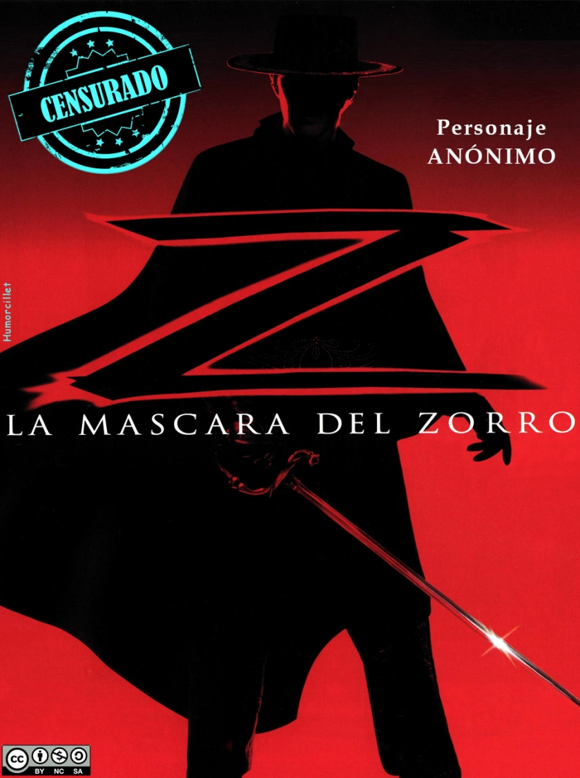zorro censurado