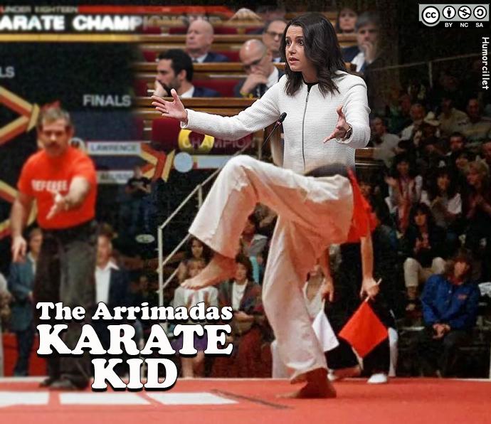 karate kid arrimadas