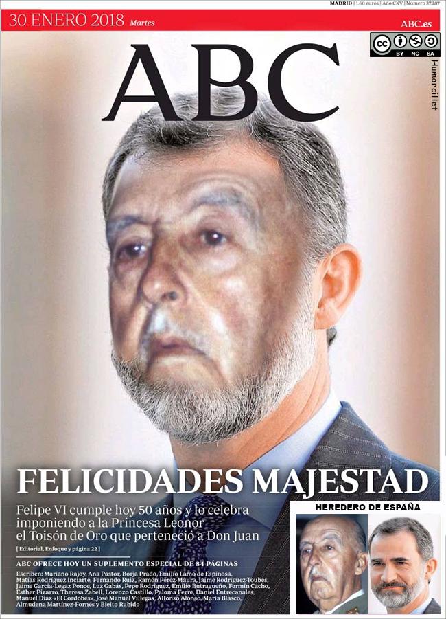 portada abc rey