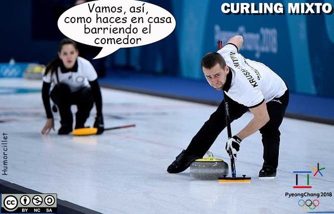 curling mixto