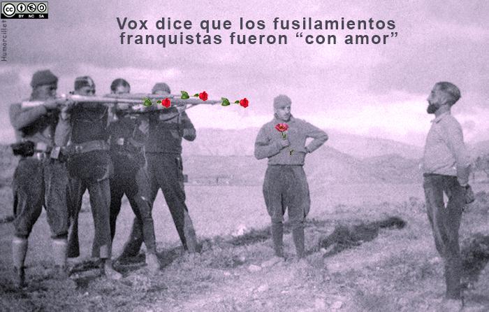 fusilamiento con amor