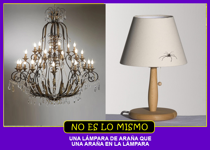 LAMPARA ARAÑA