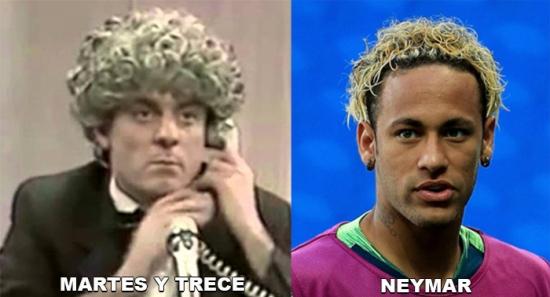 neymar y tresce