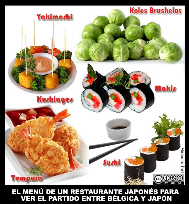 menú jap