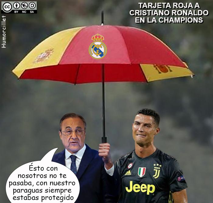 cristiano paraguas