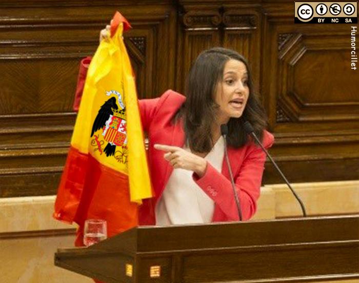 arrimadas bandera