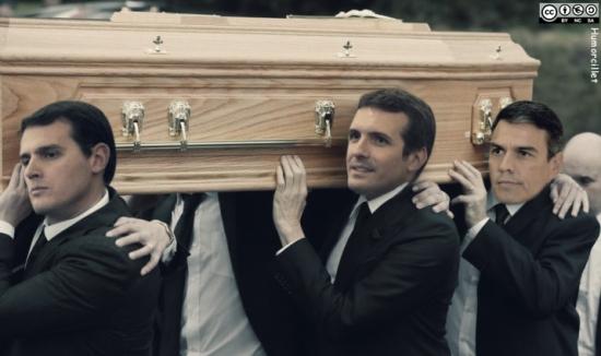 entierro franco