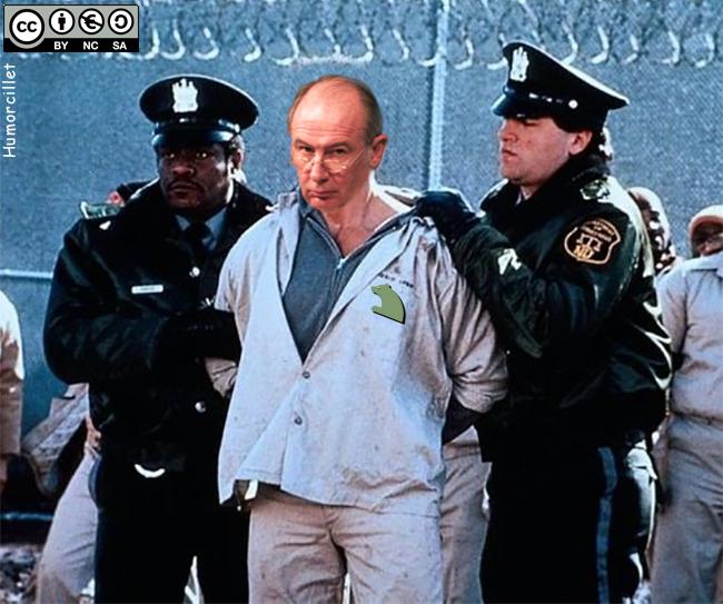 rato a la cárcel