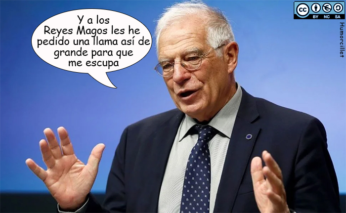 carta reyes borrell
