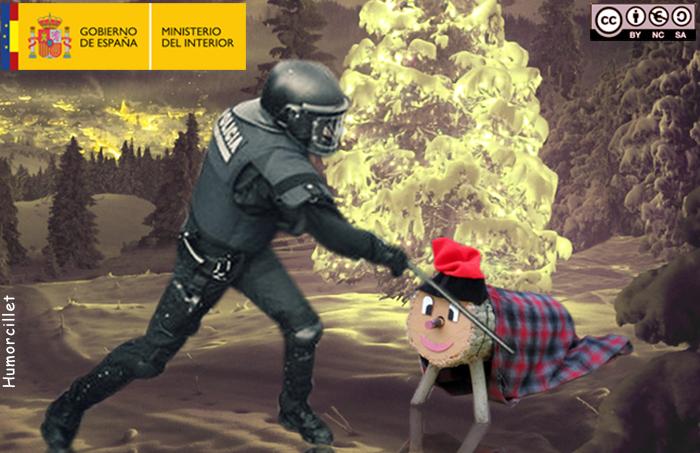 policia tió