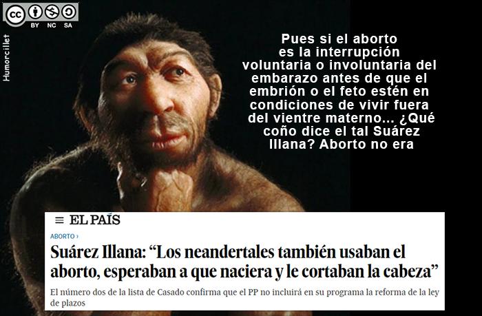 aborto neandertal