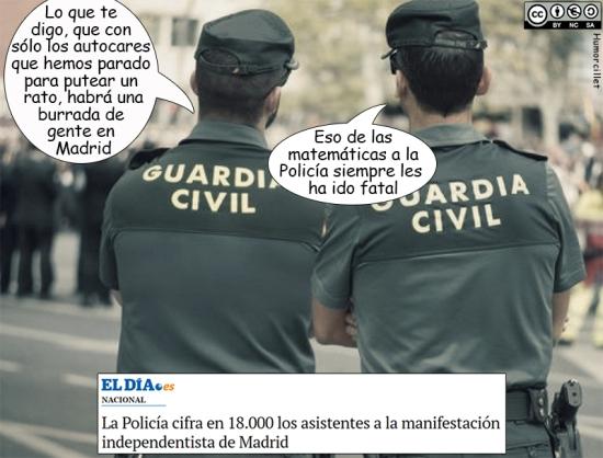 mani guardia civil
