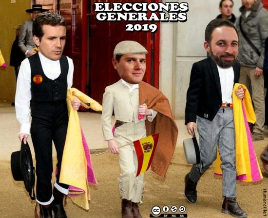 politicos toreros