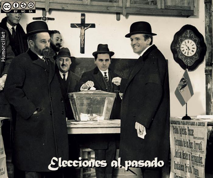 elecciones al pasado