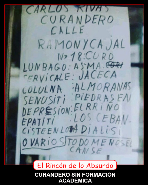 CURANDERO ACADÉMICO