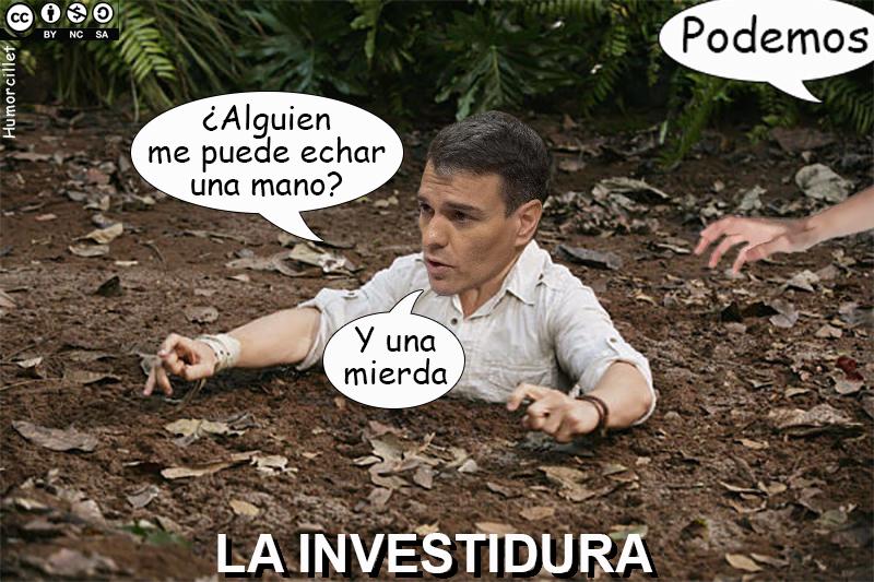INVESTIDURA PSOE