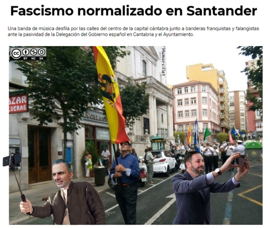 selfie franquista