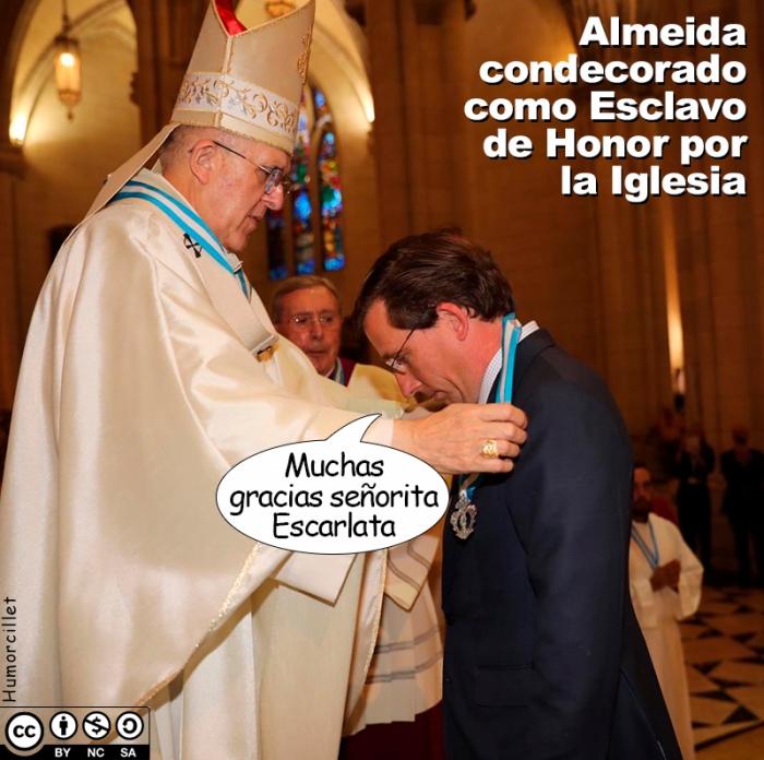 esclavo de honor