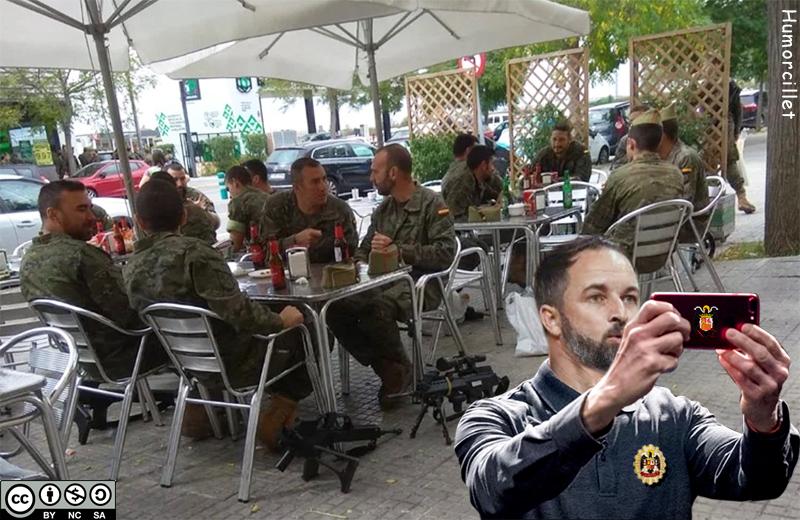 selfi militar