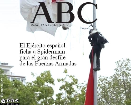 spiderman españa