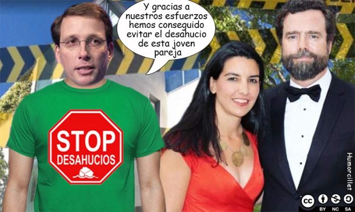 stop desahucios vox