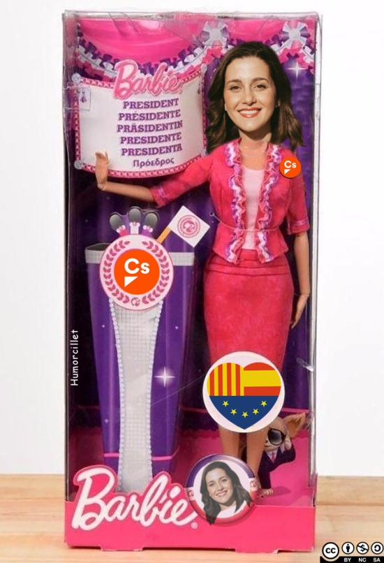 barbie presidente