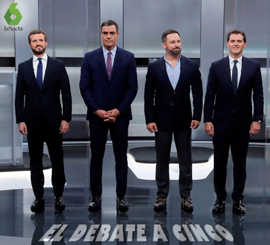 el debate a cinco