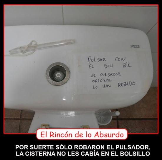 RINCON ABSURDO PULSADOR WATER