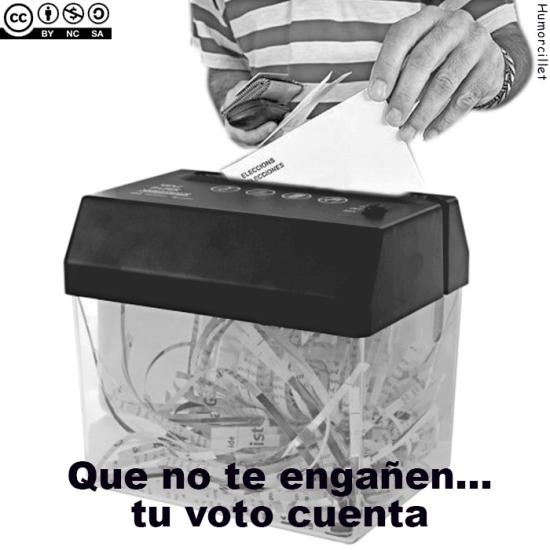 voto basura