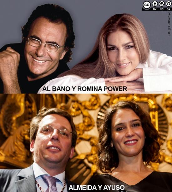albano y romina