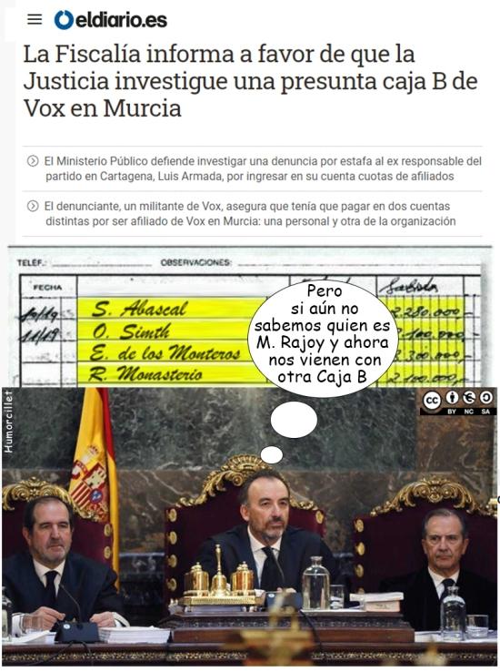 caja b Murcia