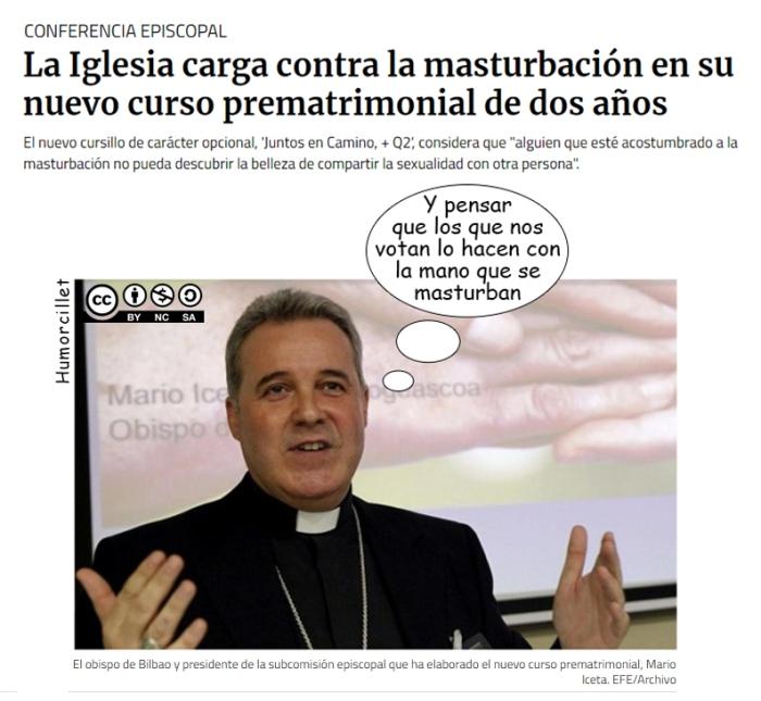 iglesia masturbación