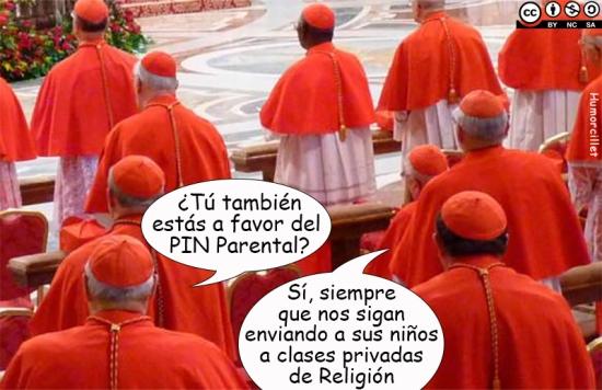 pin parental religión