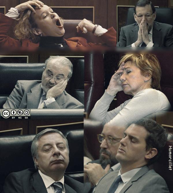 politicos siesta