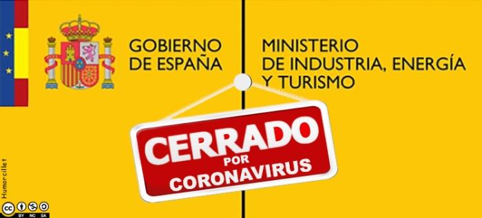 cerrado por coronavirus