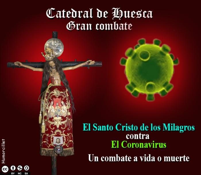 cristo milagros coronavirus