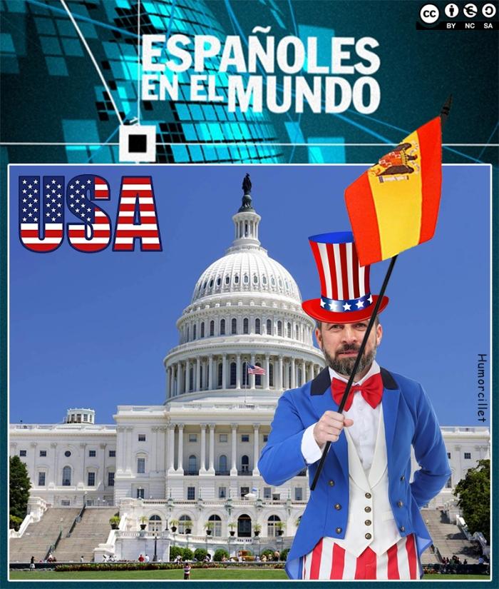 Españoles en le mundo USA