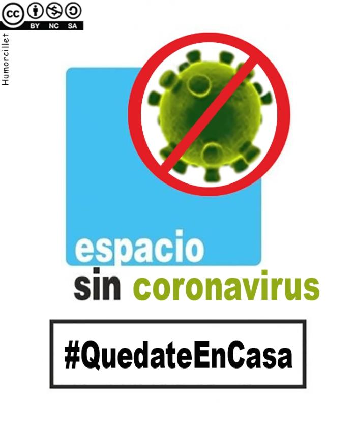 espacio sin coronavirus