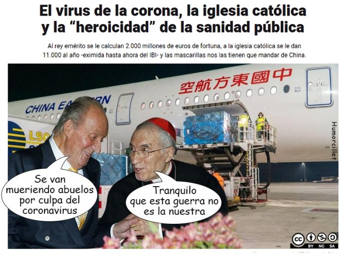iglesia corona virus