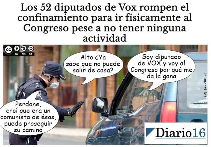 confinamiento vox