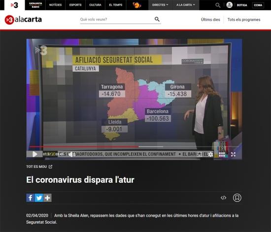 geografía TV3