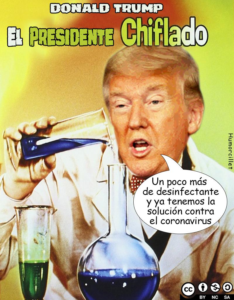presidente chiflado