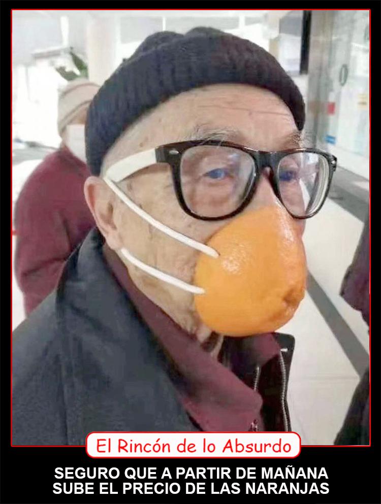 Rincón absurdo naranjas